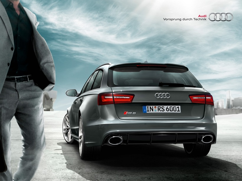 Car Pictures List for Audi RS6 Avant 2016 4.0T 560 HP ...