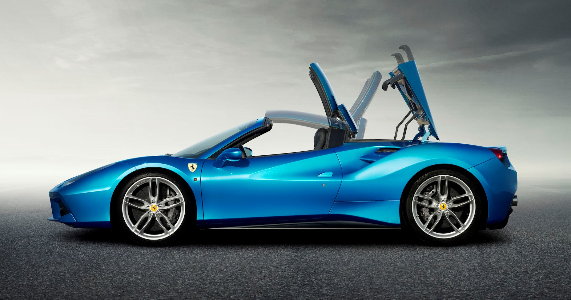 ferrari 488 spider 2017 3 9t v8 spider in uae new car prices specs reviews photos yallamotor. Black Bedroom Furniture Sets. Home Design Ideas