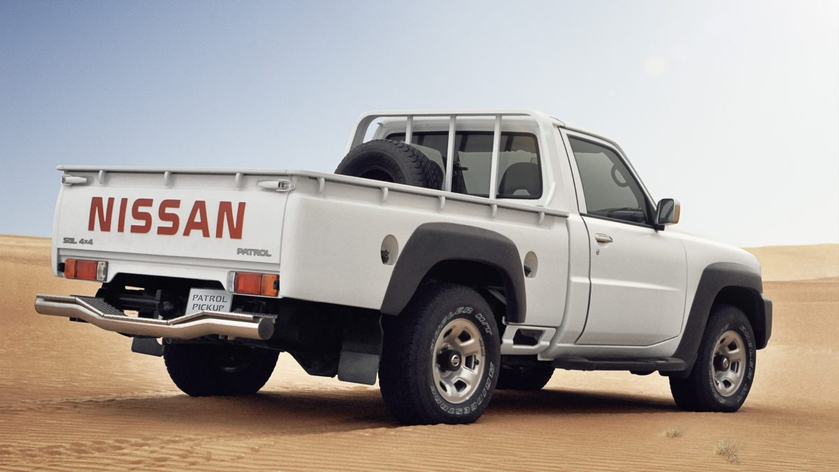 nissan patrol pick up 2017 sgl manual in uae new car prices specs reviews photos yallamotor. Black Bedroom Furniture Sets. Home Design Ideas