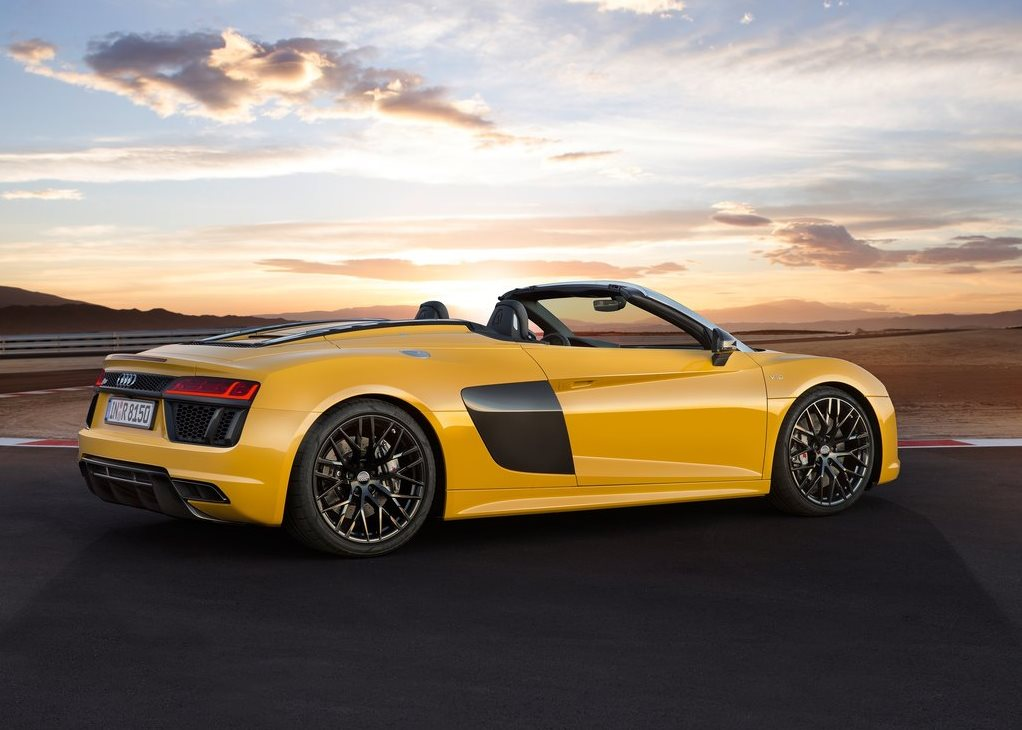 Car Pictures List For Audi R8 Spyder 2018 5.2L V10