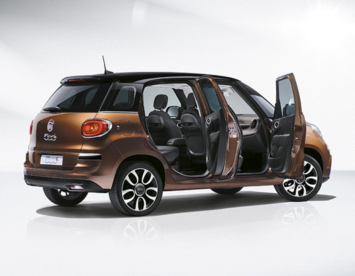 fiat 500l 2017 1 4l trekking in kuwait new car prices specs reviews photos yallamotor. Black Bedroom Furniture Sets. Home Design Ideas