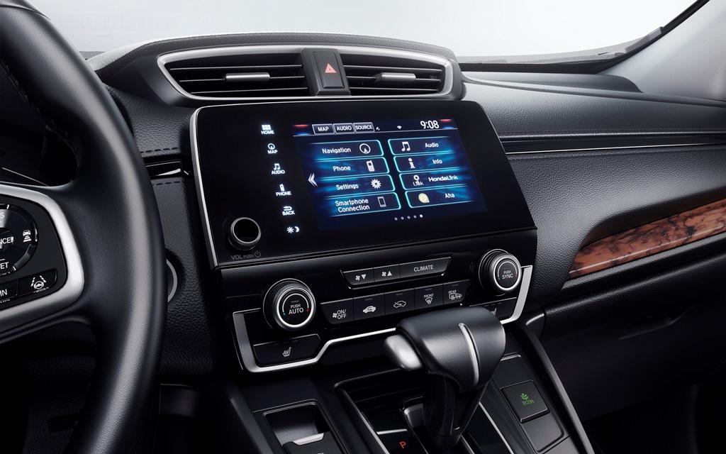 Car Features List For Honda Cr V 2018 Touring Awd Uae