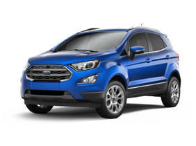 Ford EcoSport 2018 1.0T Ambiente, United Arab Emirates, Front angle view.