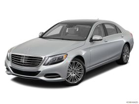 Mercedes-Benz S-Class 2018, United Arab Emirates, Front angle view.