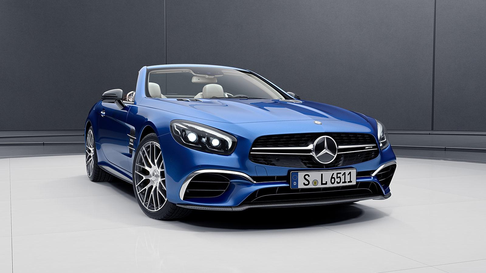 Car Features List for Mercedes-Benz SL 65 AMG 2018 6.0L ...