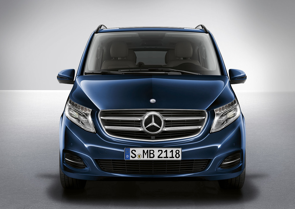 car pictures list for mercedes benz v class 2018 standard. Black Bedroom Furniture Sets. Home Design Ideas