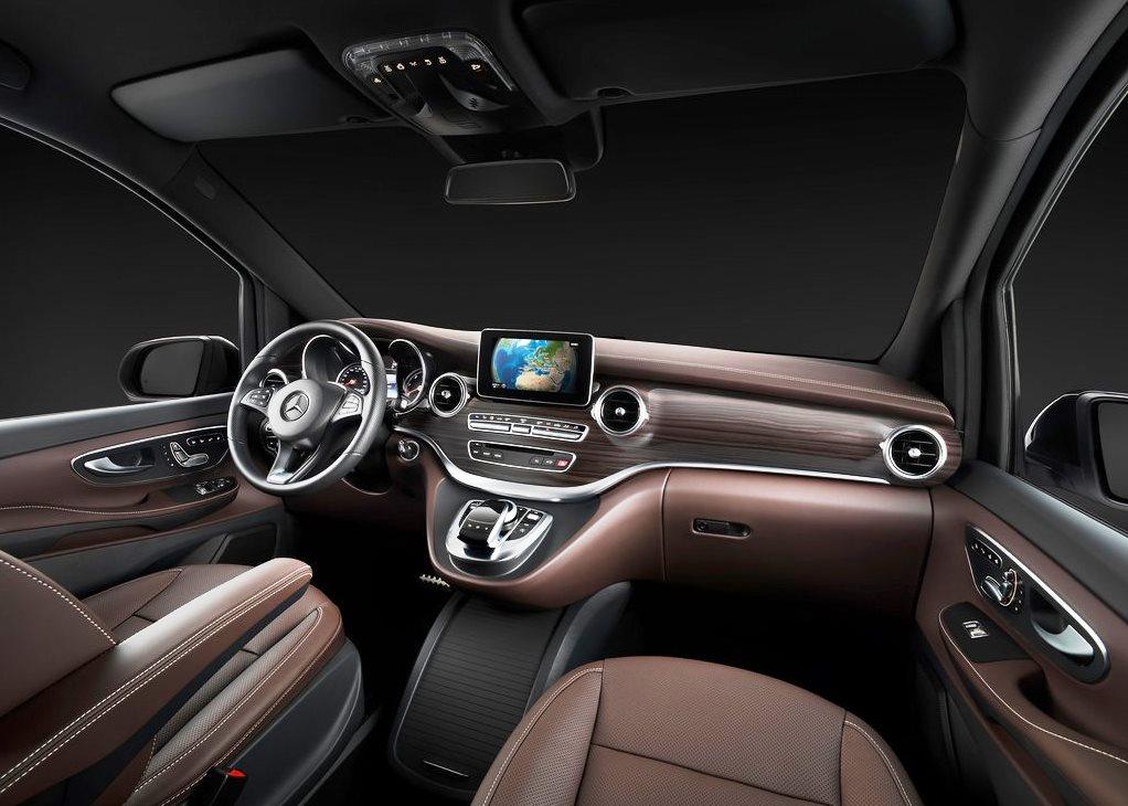 car pictures list for mercedes benz v class 2018 standard uae yallamotor. Black Bedroom Furniture Sets. Home Design Ideas