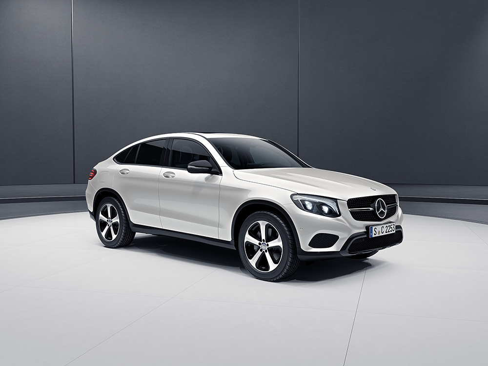 Car features list for mercedes benz glc coupe 2018 250 for Mercedes benz coupes list