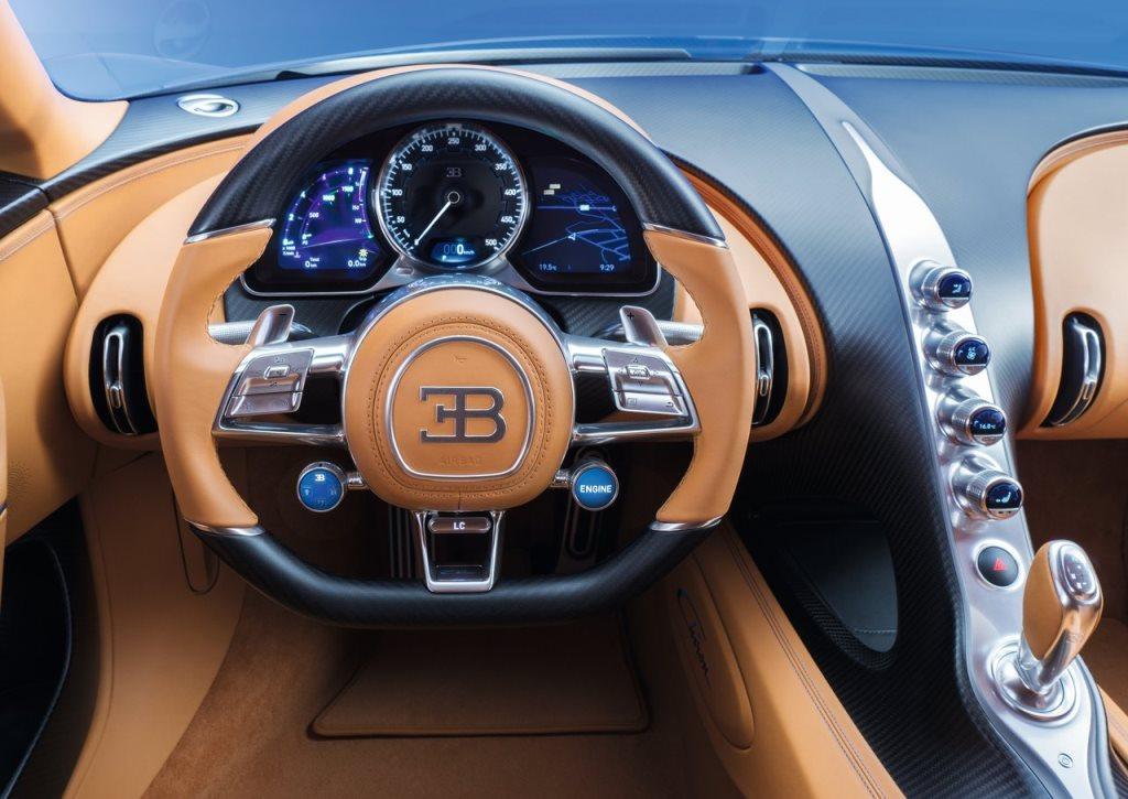 Bugatti chiron fuel capacity