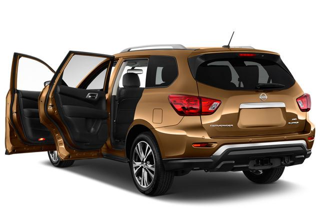 nissan pathfinder 2018 sv 4wd in uae new car prices specs reviews photos yallamotor. Black Bedroom Furniture Sets. Home Design Ideas