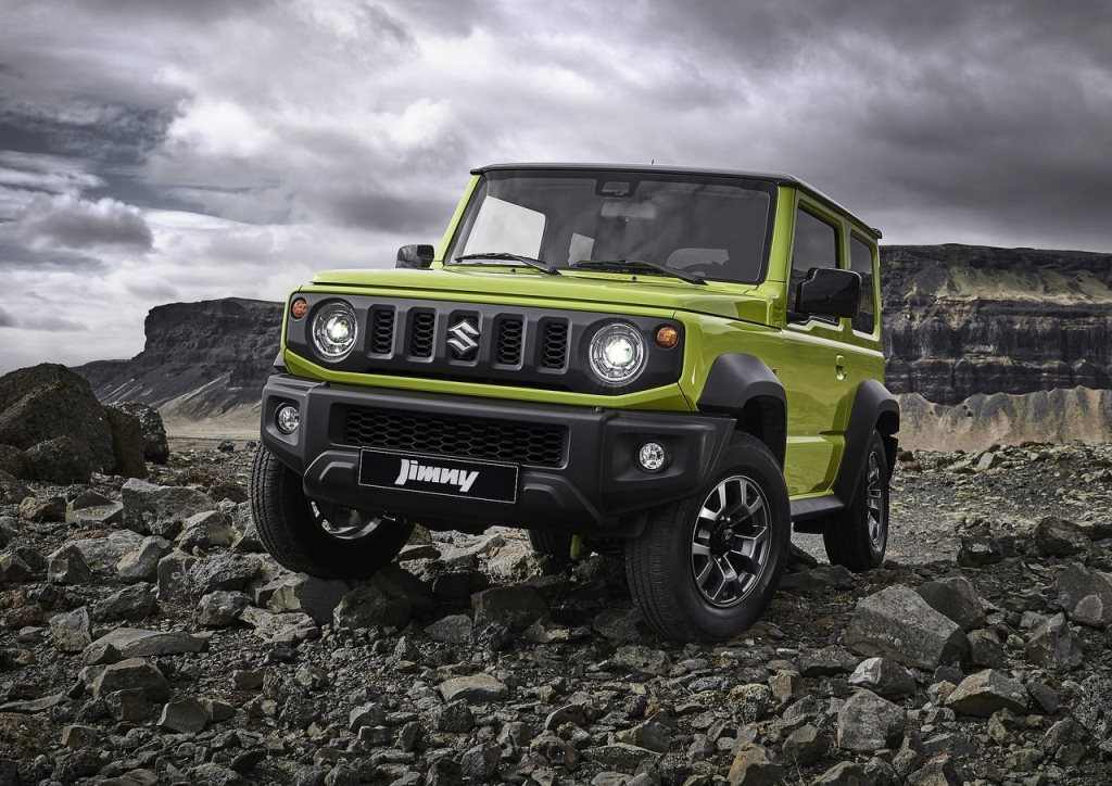 suzuki jimny 2019 1 5l automatic in uae new car prices specs reviews photos yallamotor. Black Bedroom Furniture Sets. Home Design Ideas