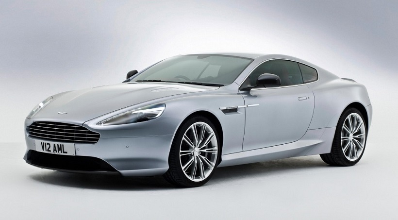 Aston Martin DB9 2019 V12 Carbon Black in Saudi Arabia: New