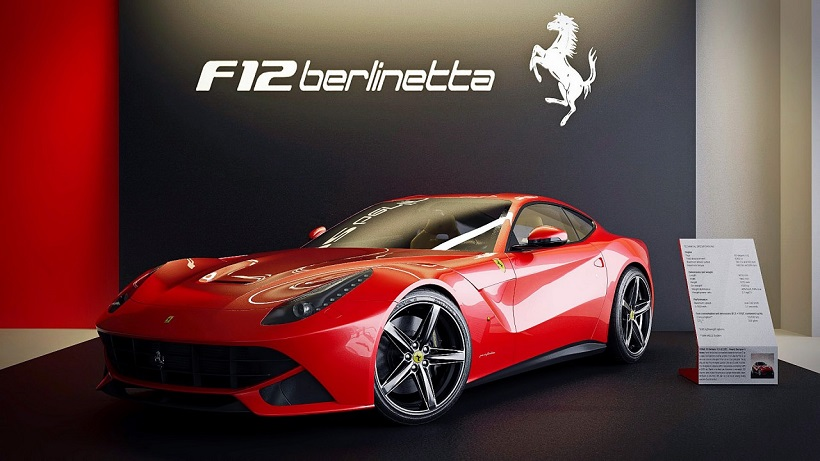 Car Pictures List For Ferrari F12 Berlinetta 2019 Coupe Oman