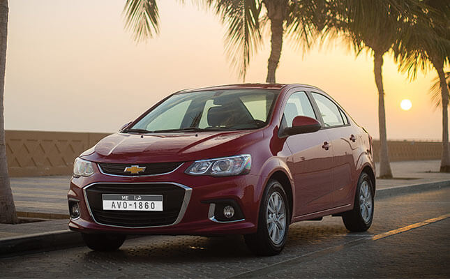 Chevrolet Aveo 2019 1.6L LS in UAE: New Car Prices, Specs ...
