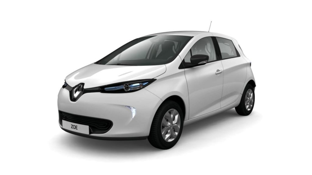 renault zoe 2019 ze 40 41 kwh in uae new car prices. Black Bedroom Furniture Sets. Home Design Ideas