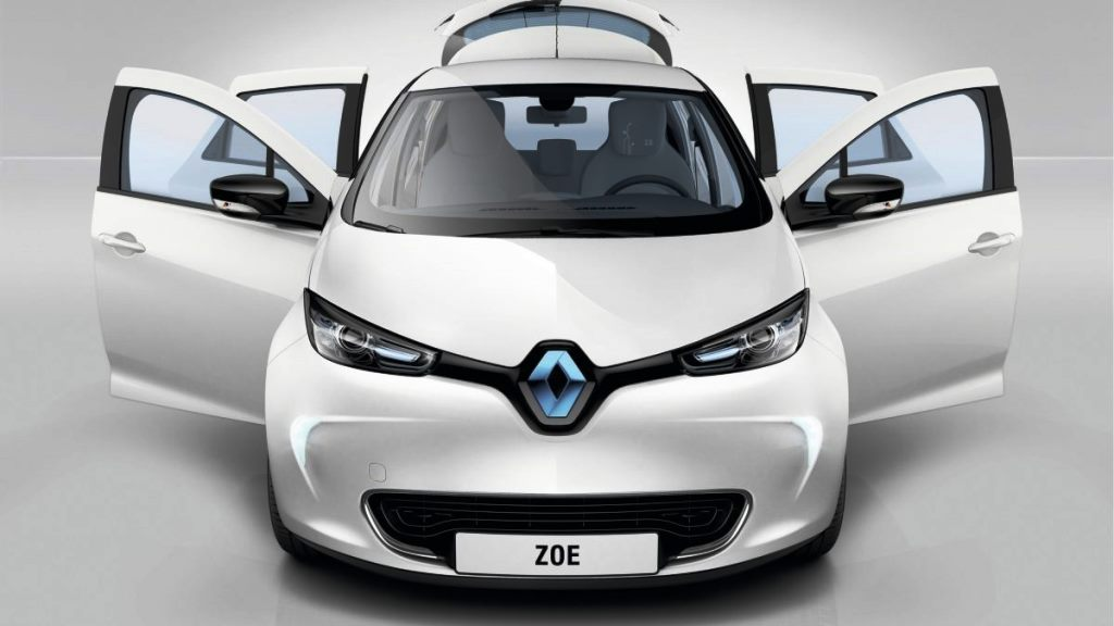 car features list for renault zoe 2019 ze 40 41 kwh uae yallamotor. Black Bedroom Furniture Sets. Home Design Ideas