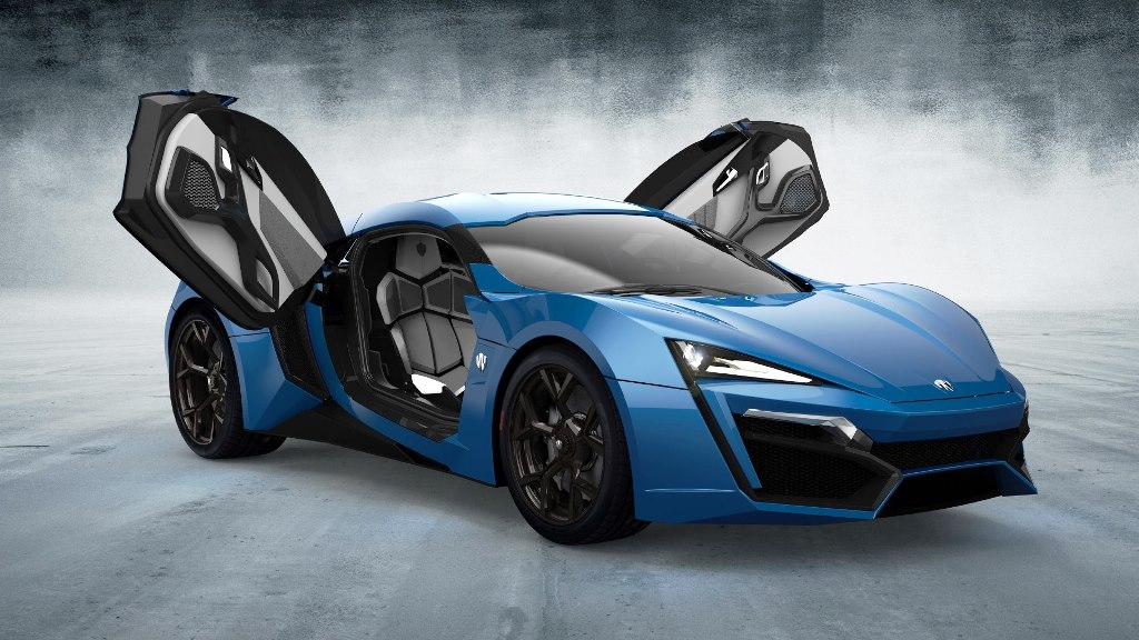 Car Pictures List For W Motors Lykan Hypersport 2019 Coupe