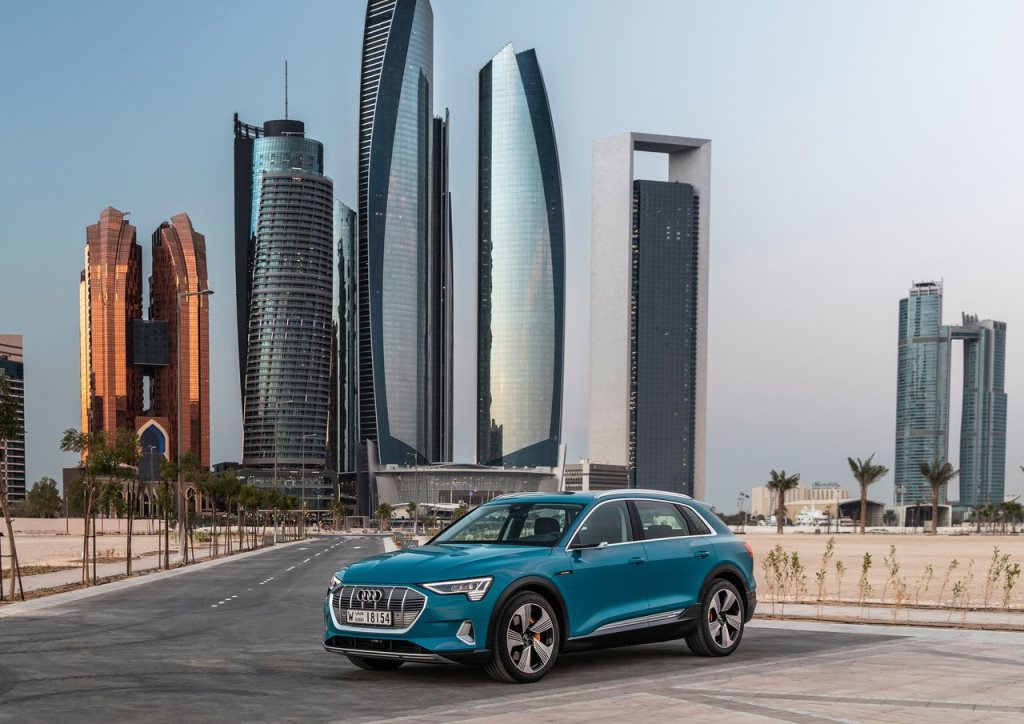 Audi E-Tron 2019, United Arab Emirates