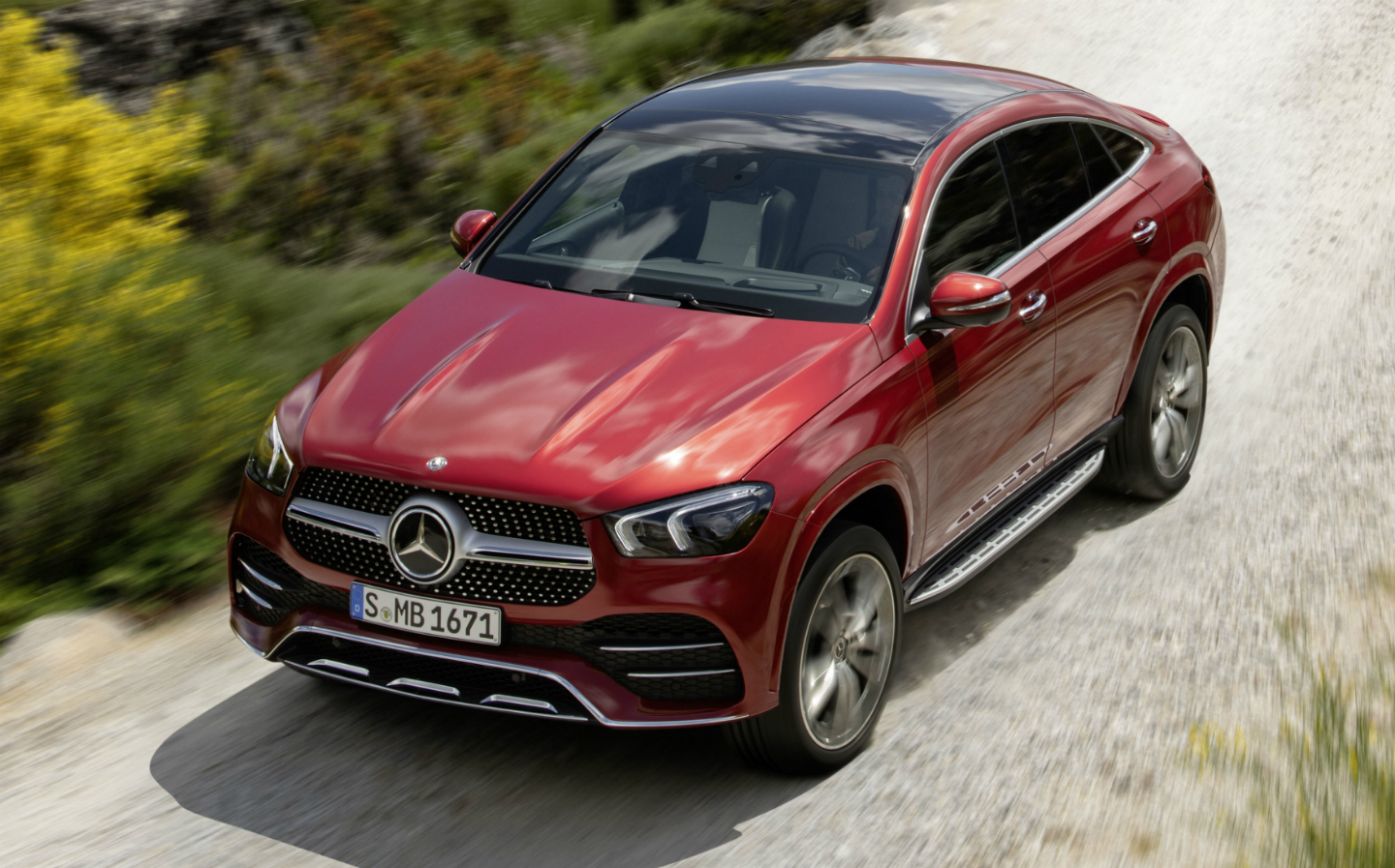 Car Pictures List for Mercedes-Benz GLE Coupe 2020 GLE ...
