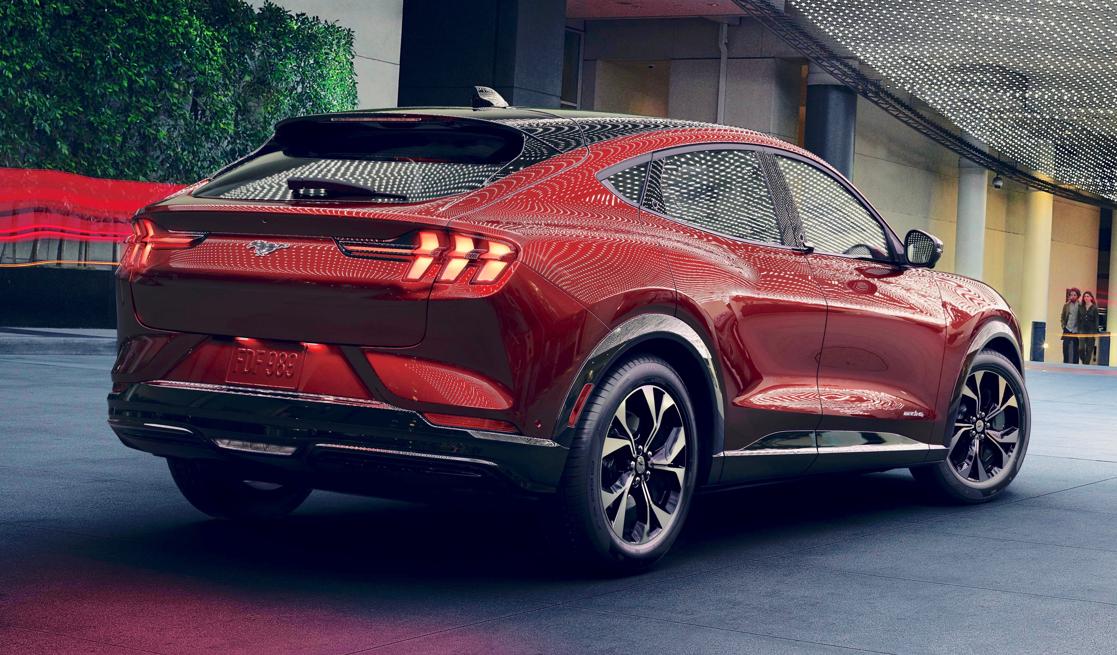 2020 Ford Mustang Mach E Electric Car