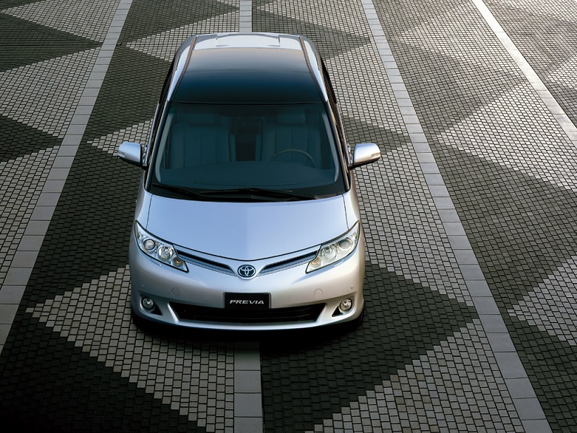 toyota previa 2021 2.4l se in uae: new car prices, specs