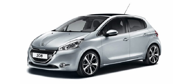 peugeot 208 2013 allure top range in uae new car prices. Black Bedroom Furniture Sets. Home Design Ideas
