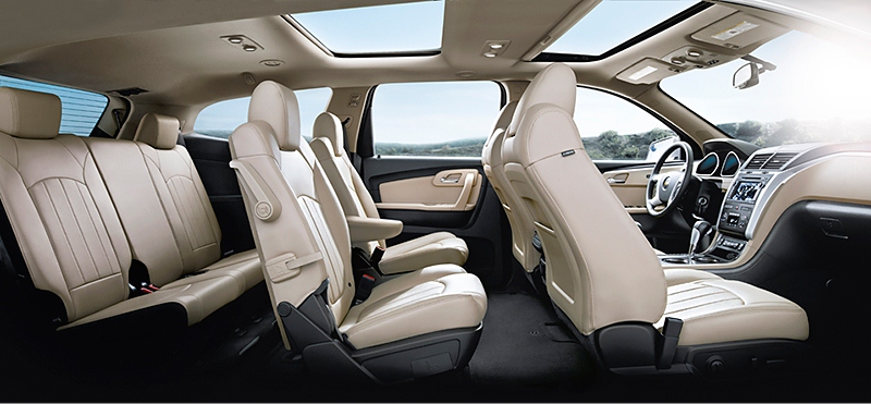 Chevrolet traverse 2012 ls in kuwait new car prices - Chevy traverse interior dimensions ...