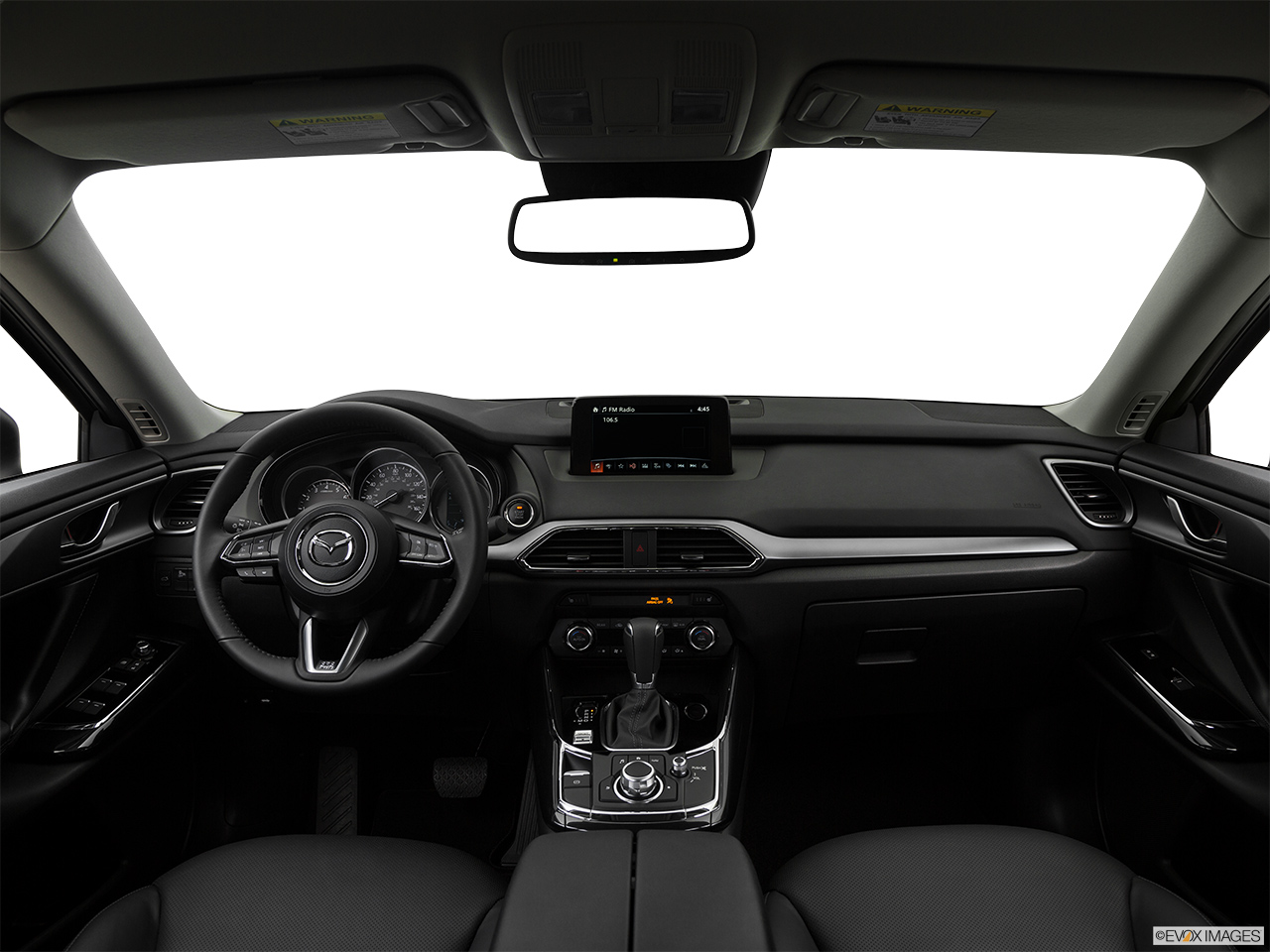 Mazda CX-9 2018, Saudi Arabia, Centered wide dash shot