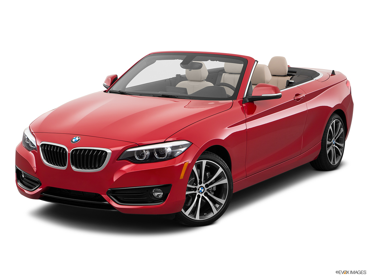 BMW 2 Series Convertible 2018, Saudi Arabia, Front angle view.