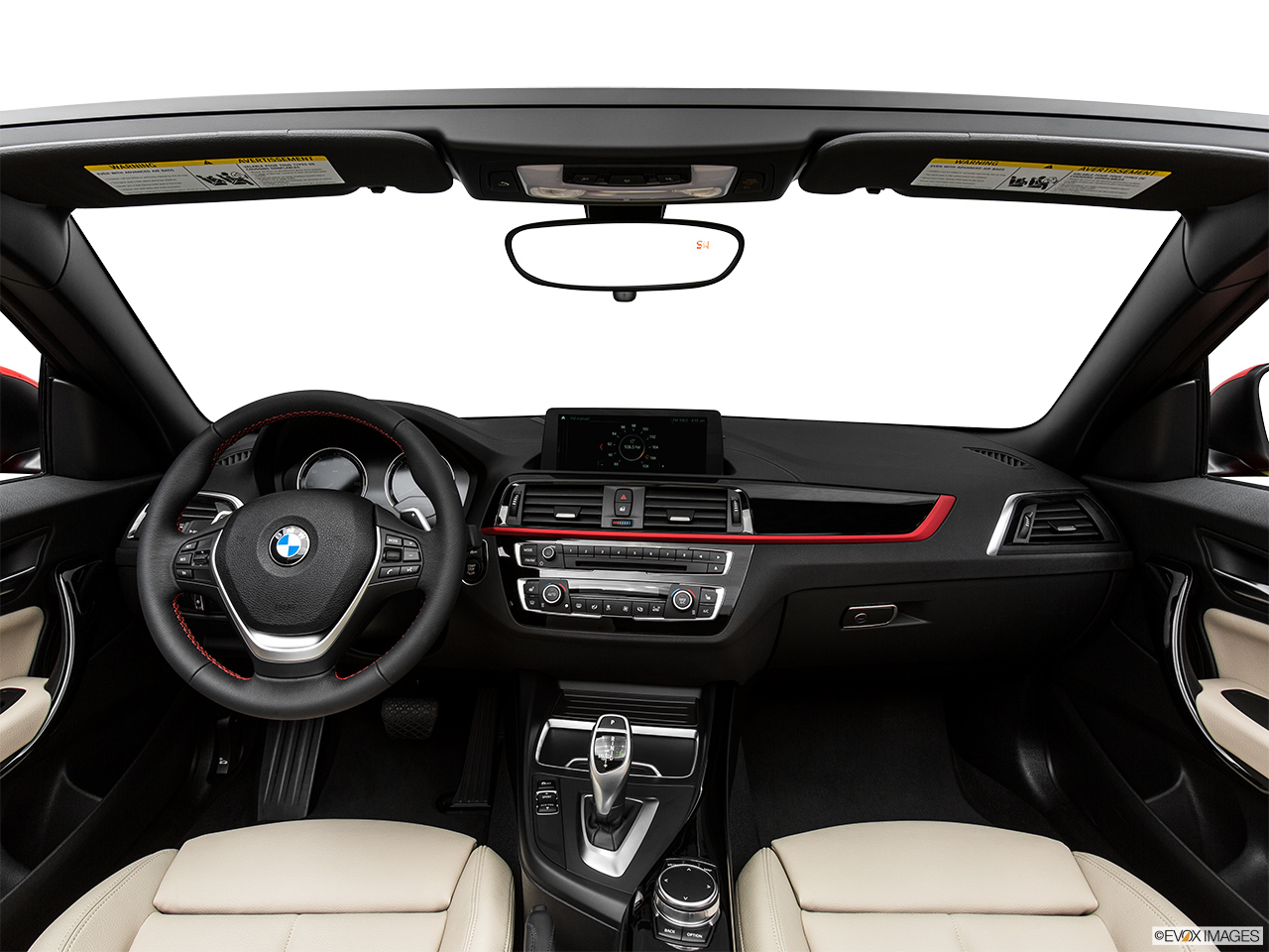 BMW 2 Series Convertible 2018, Saudi Arabia, Centered wide dash shot