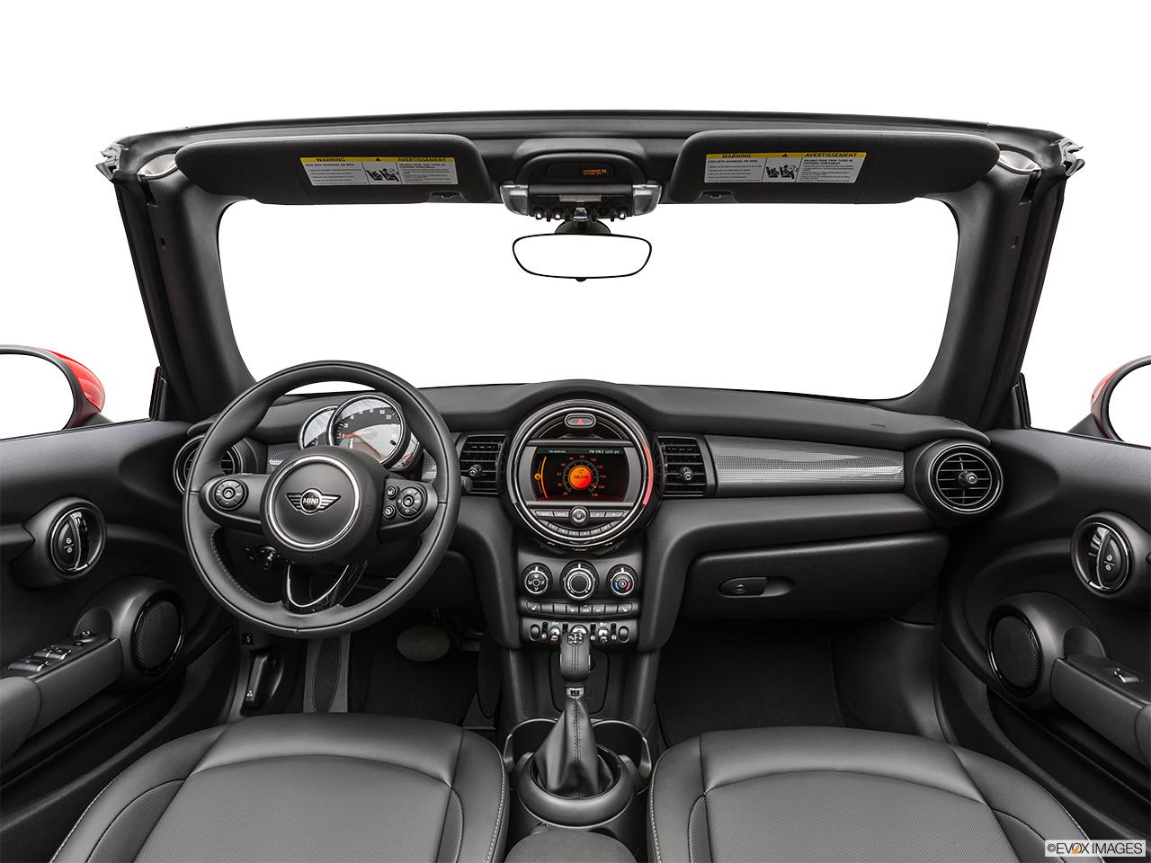 Mini Convertible 2019 Cooper, Saudi Arabia, Centered wide dash shot