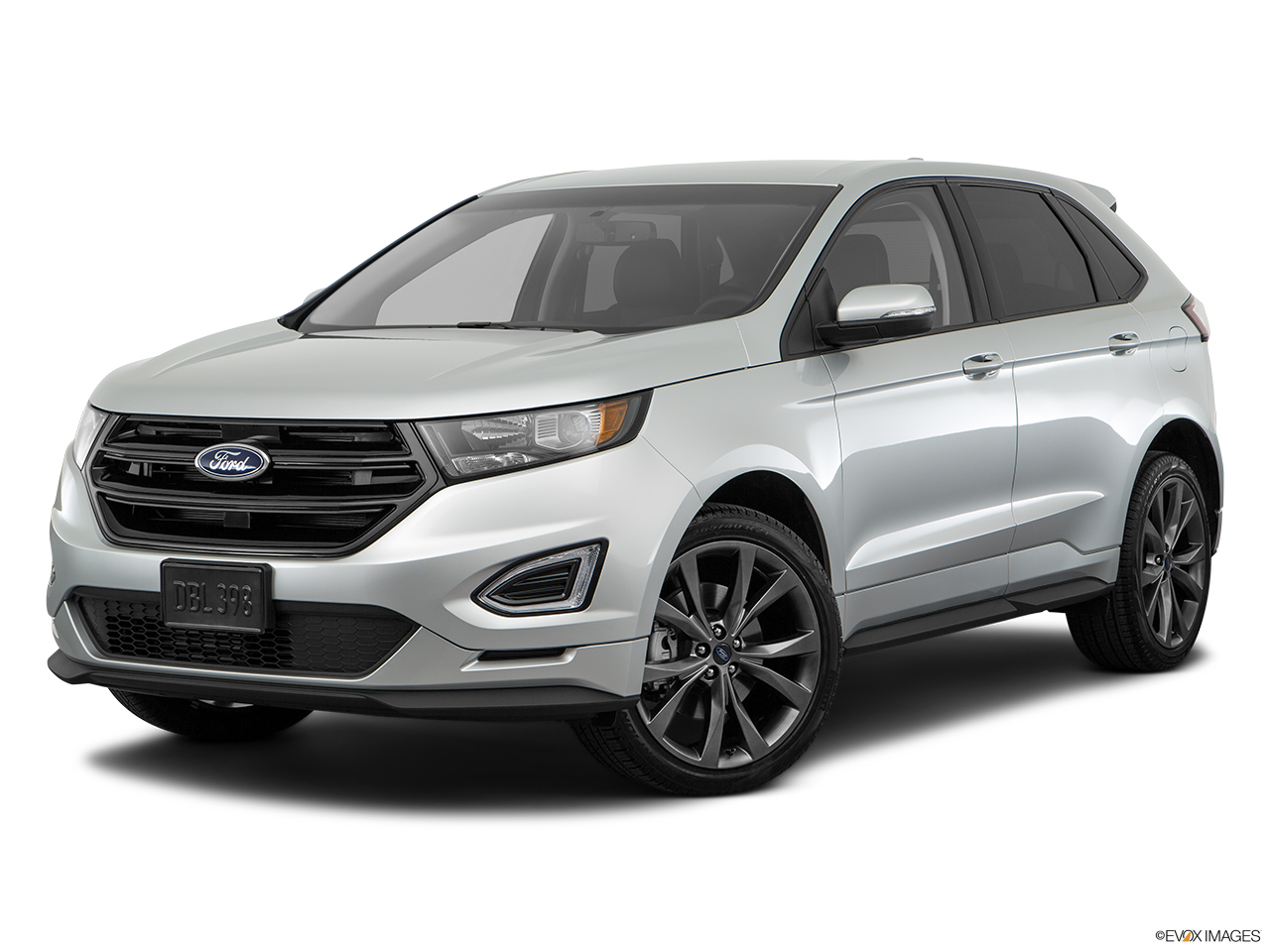 Ford Edge L Sport Kuwait Front Angle Medium View