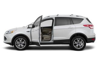 Ford Escape L Ecoboost Titanium Awd Qatar Drivers Side Profile