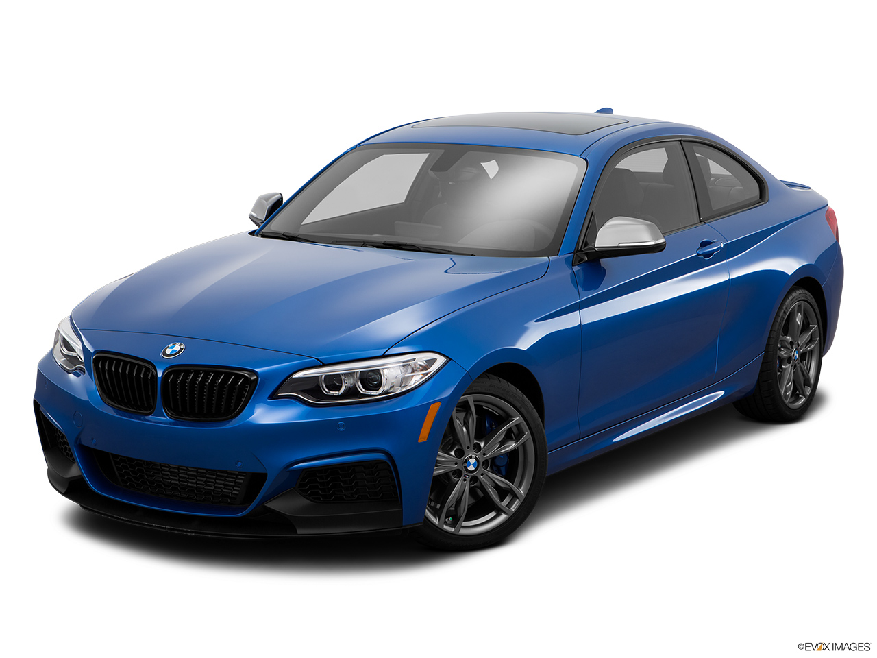 BMW 2 Series Coupe 2016 M235i Qatar Front Angle View