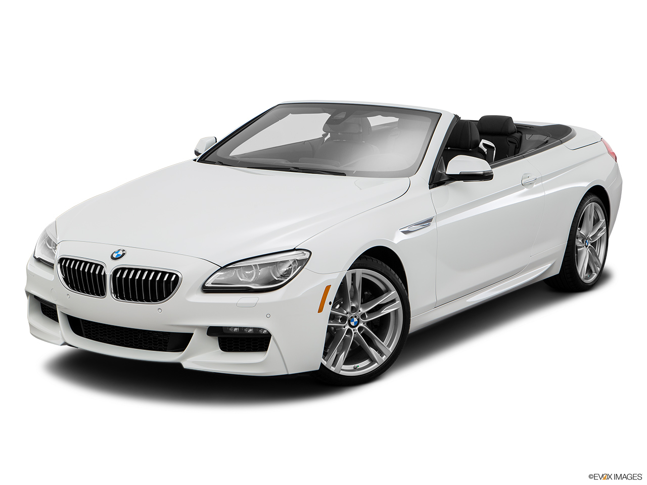 BMW 6 Series Convertible 2016 640i Qatar Front Angle View