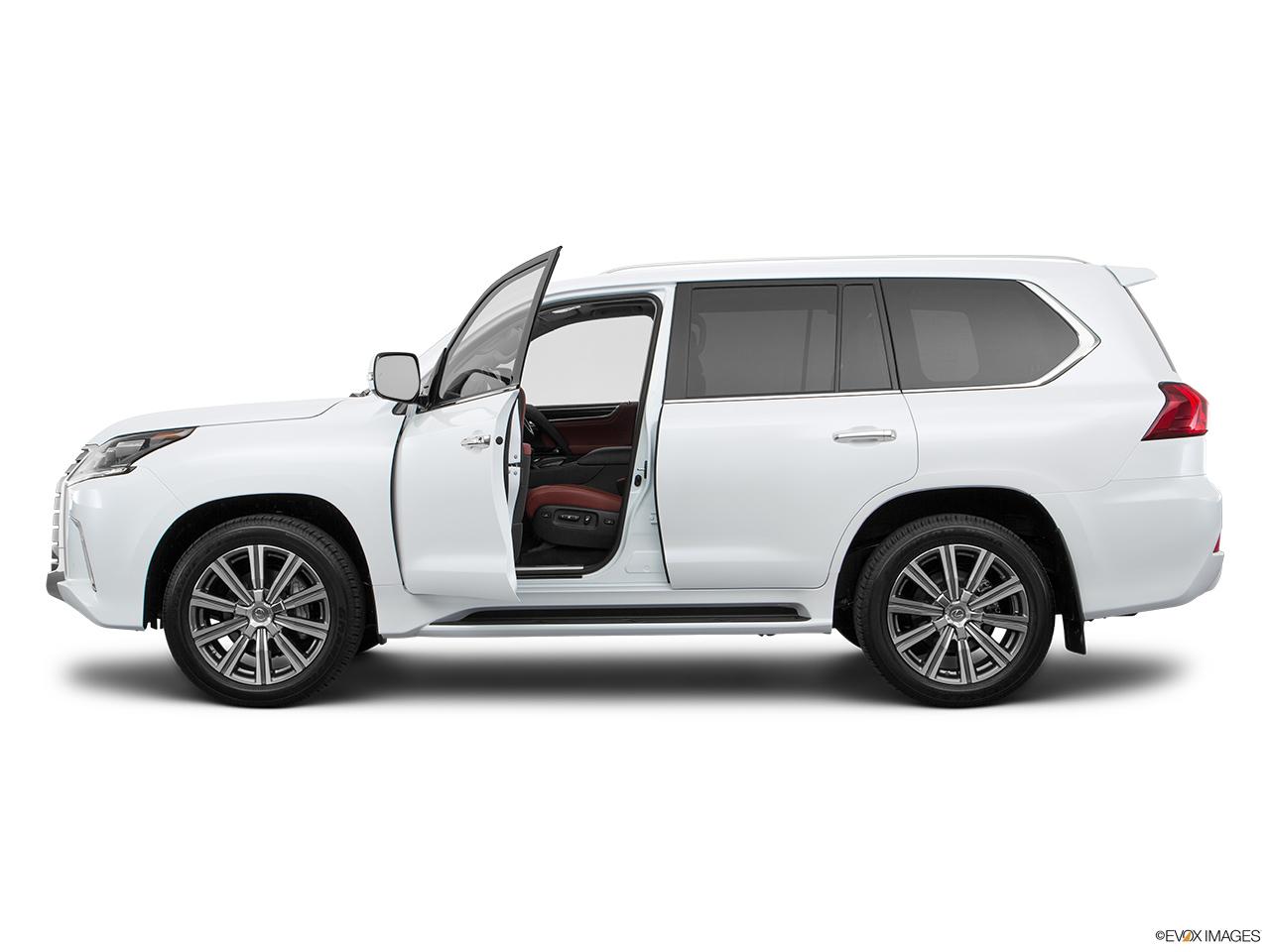 Lexus lx 2016 570 premier oman driver s side profile with drivers side door open