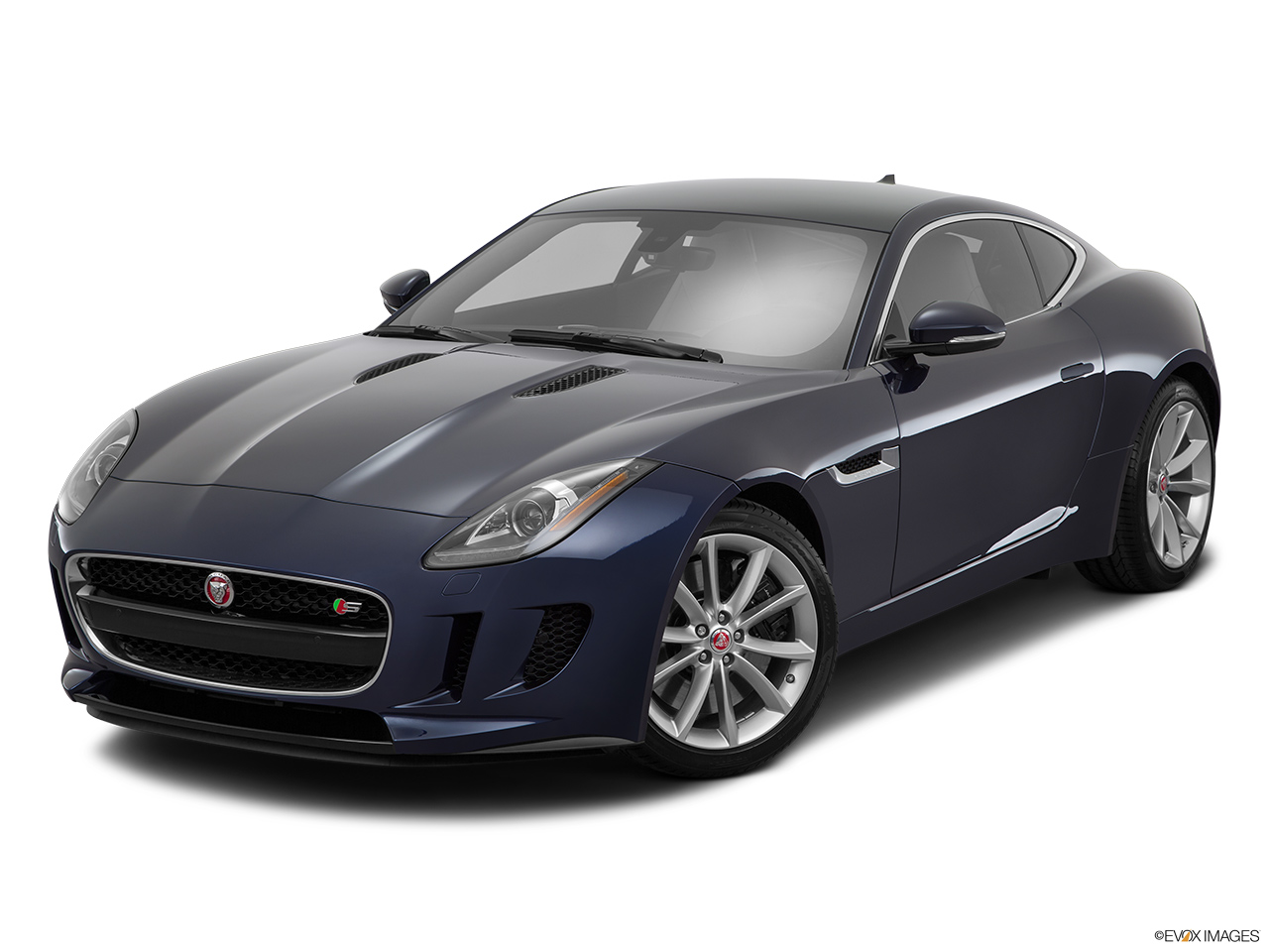 Jaguar F Type Coupe 2016 V6 S, United Arab Emirates, Front Angle View
