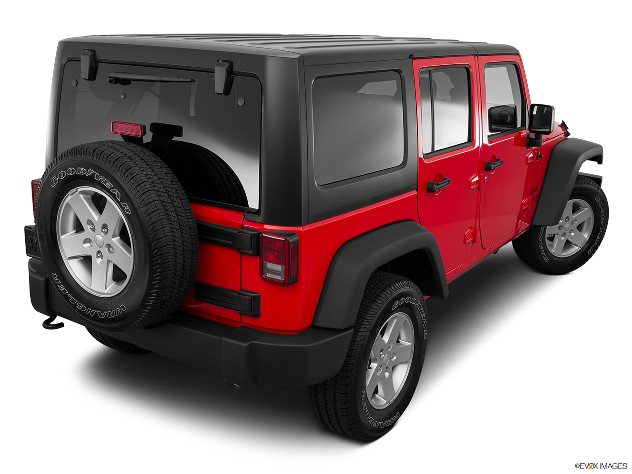 Jeep Wrangler Unlimited 2016 Sport 3.6L Manual, Bahrain, Rear 3/4 angle