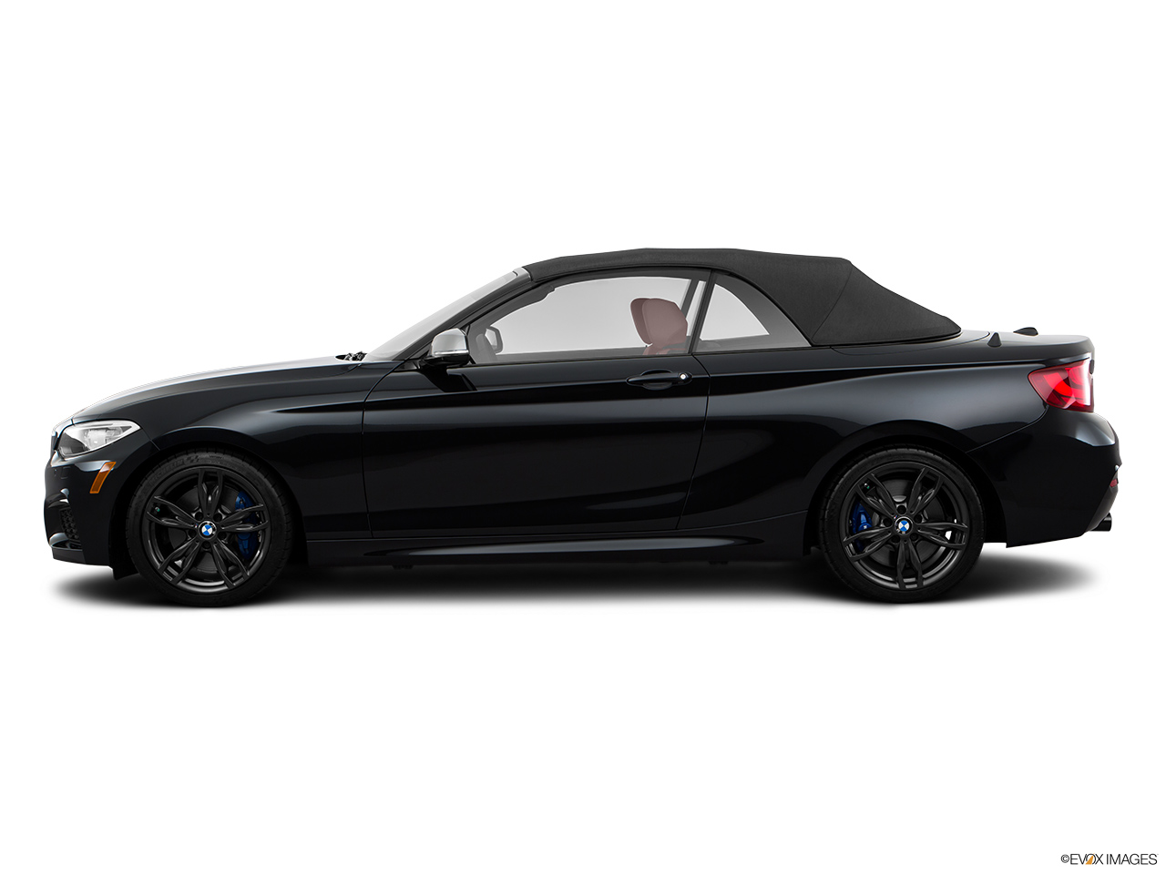 BMW 2 Series Convertible 2016 M235i Qatar Drivers Side Profile Top Up
