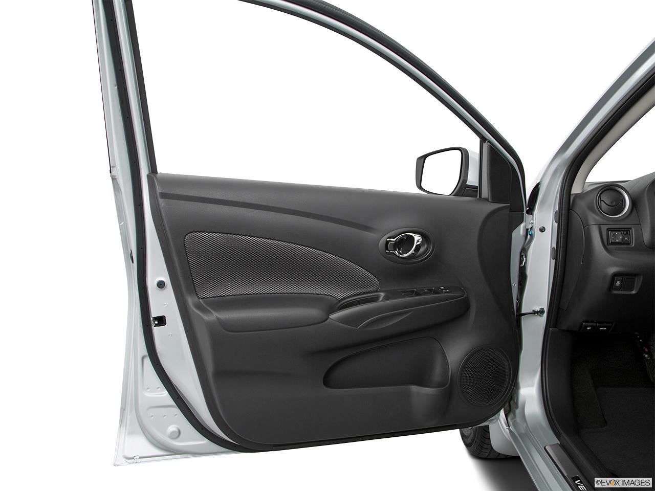 how to open door from inside car honda