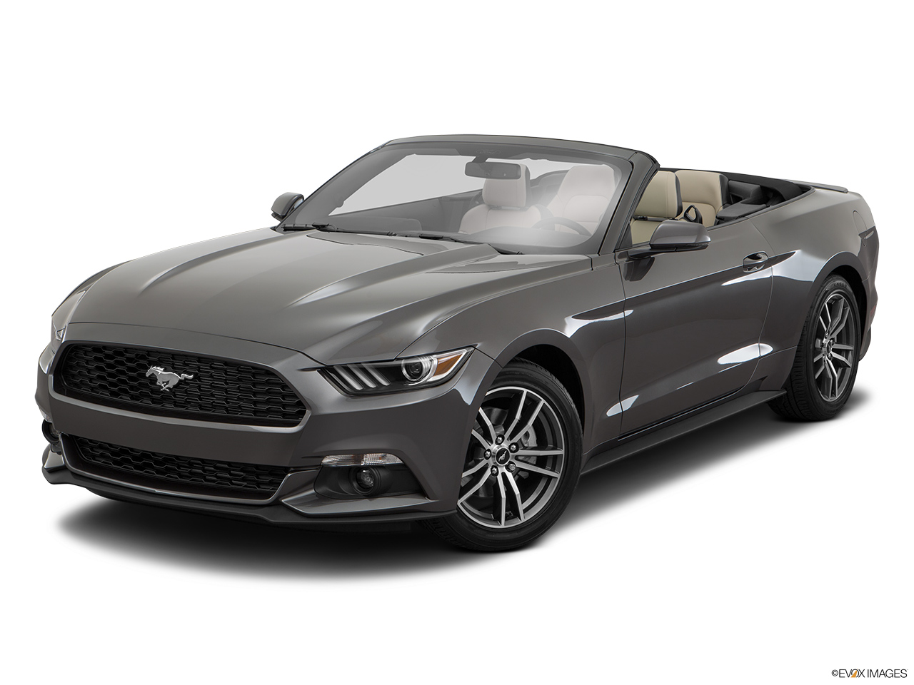 Ford Mustang 2017 2 3l Ecoboost Fastback A T Saudi Arabia Front Angle