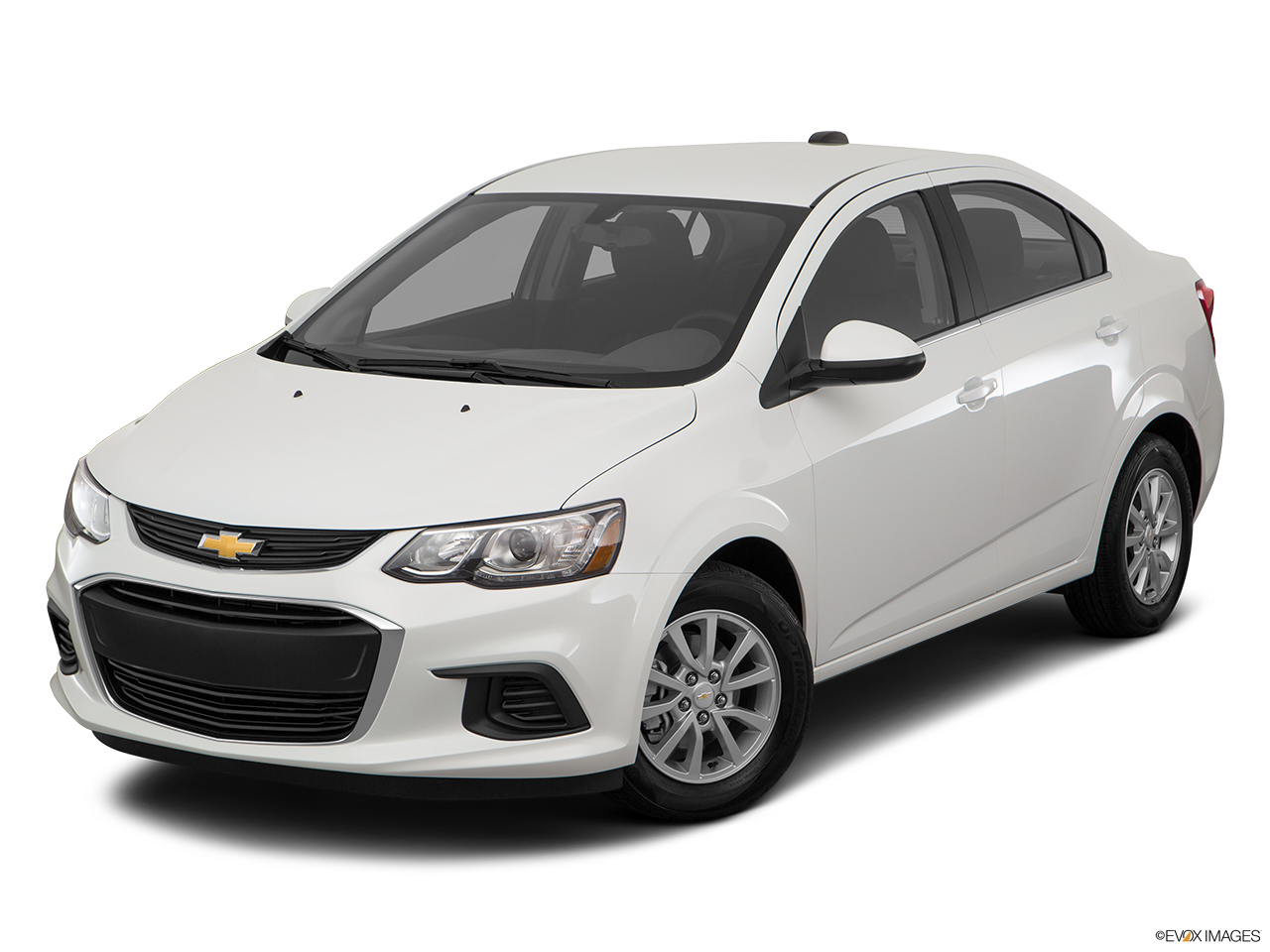 Chevrolet Sonic 2017 1.6 Base Sedan, Bahrain, Front angle view.
