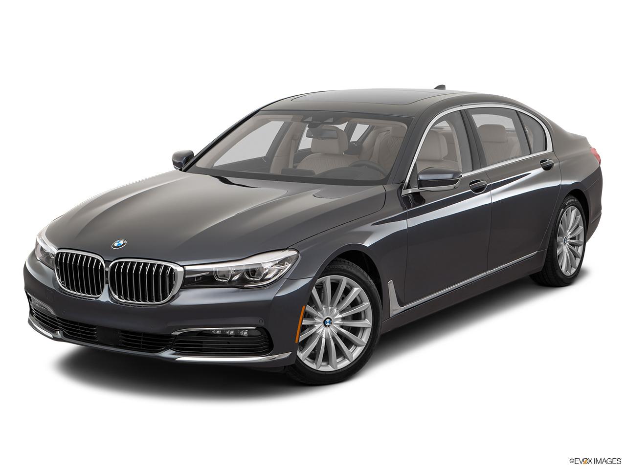 BMW 7 Series 2017 740Li United Arab Emirates Front Angle View