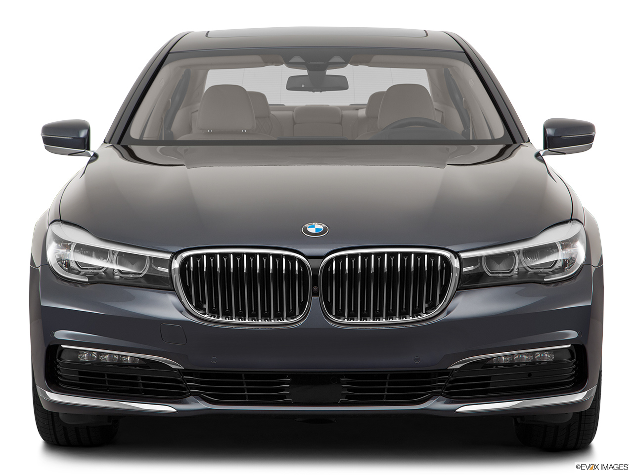 BMW 7 Series 2017 750Li United Arab Emirates Low Wide Front
