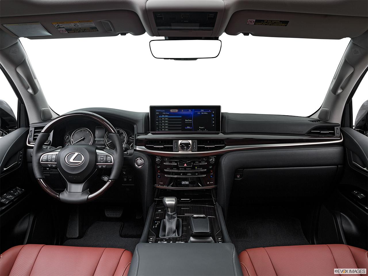 Lexus lx 2017 570 premier united arab emirates centered wide dash shot