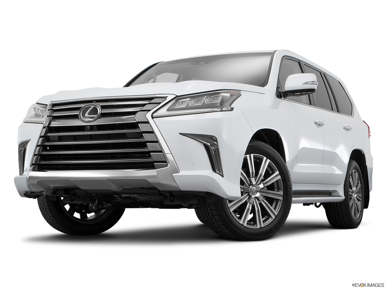 Lexus lx 2017 570 premier united arab emirates front angle view low wide