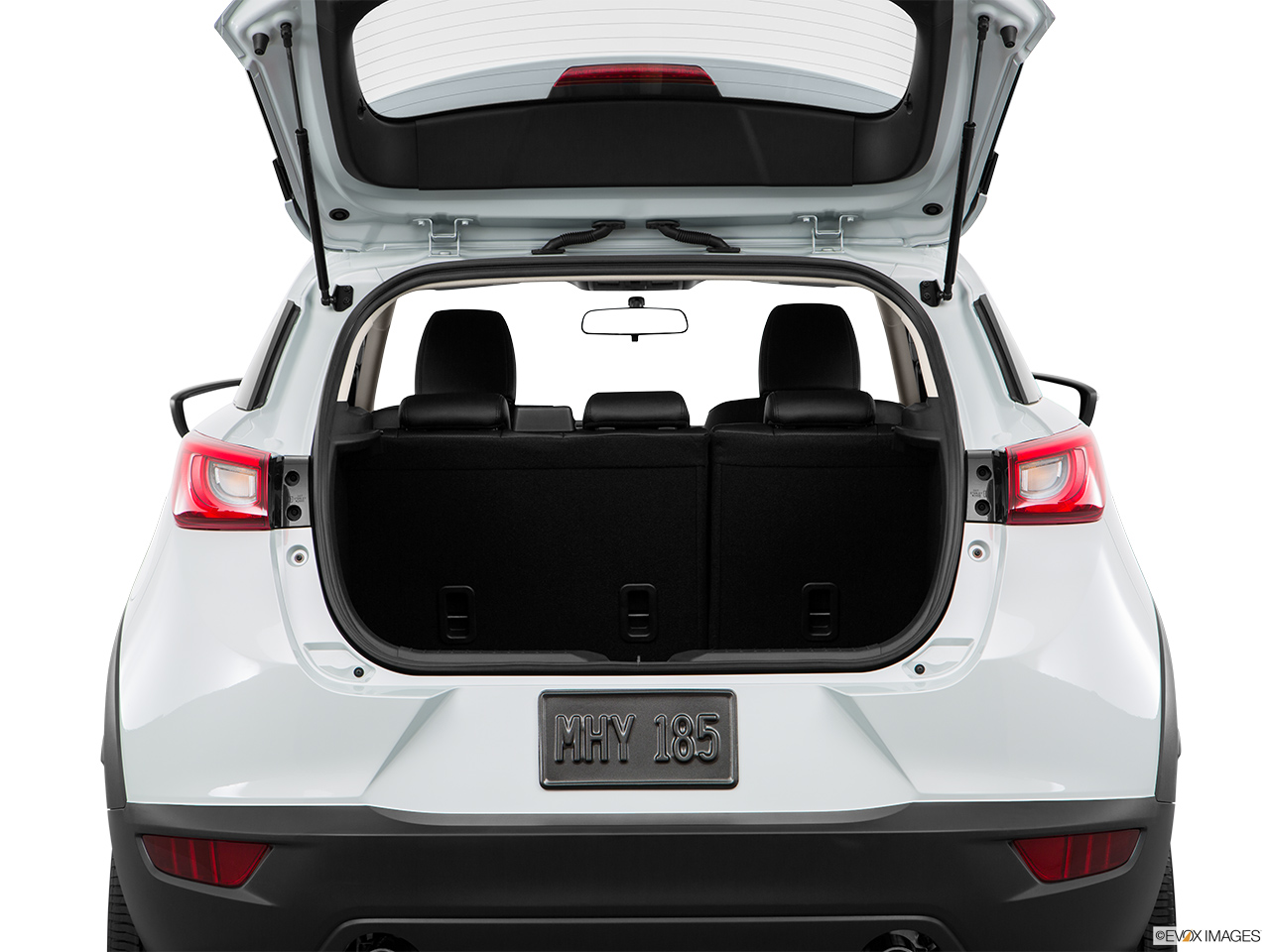 how to open mazda cx 3 trunk without key