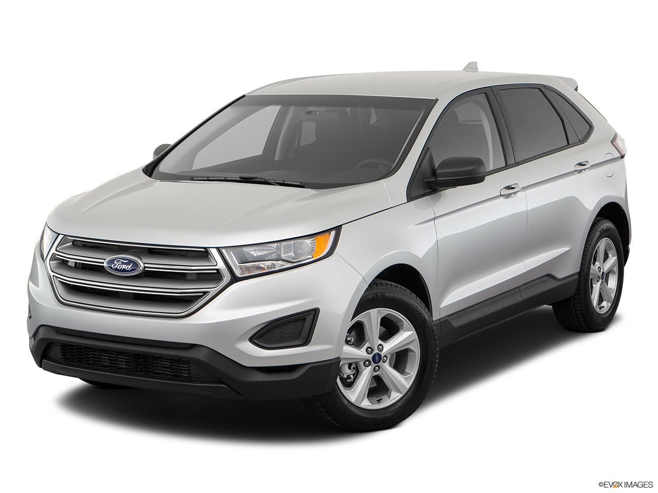 Ford Edge 2018, Saudi Arabia, Front angle view.