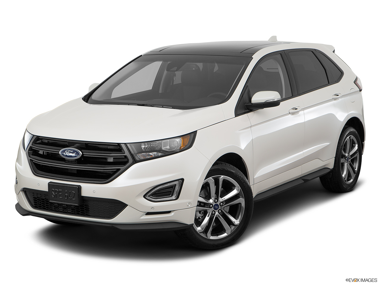 Ford Edge L Ecoboost Sport Qatar Front Angle View