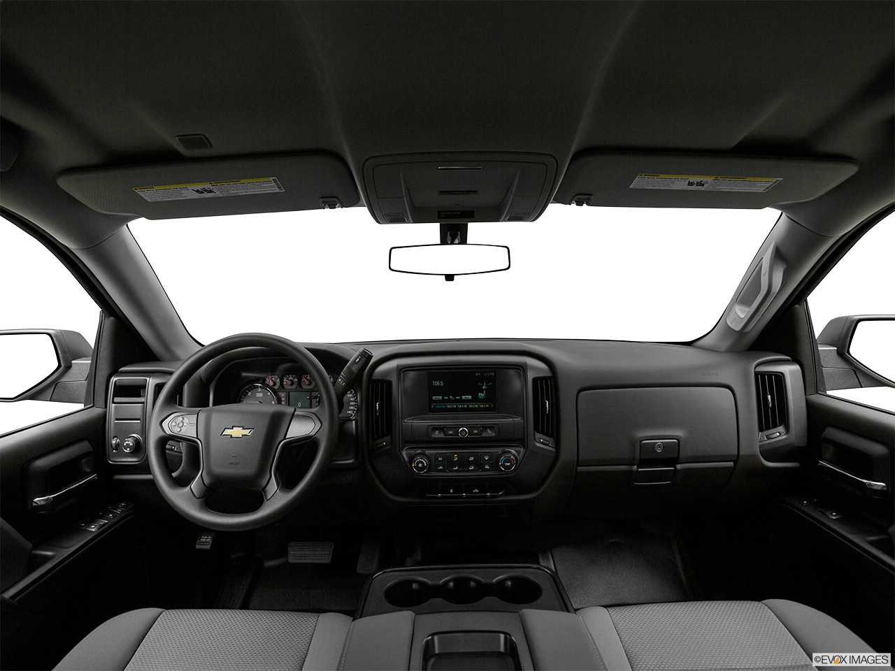 Chevrolet Silverado 2018 1500 Base, Saudi Arabia, Centered wide dash shot